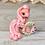 Thumbnail: Loyal - (Second Chance) - Handmade polymer clay pony - tiny size