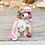 Thumbnail: October - (Second Chance) - Handmade polymer clay pony - tiny