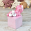 Thumbnail: Pinky Cloud - (Second Chance) - Handmade polymer clay pony - tiny