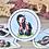 Thumbnail: Jacob (circle) *  Vinyl Sticker (waterproof)