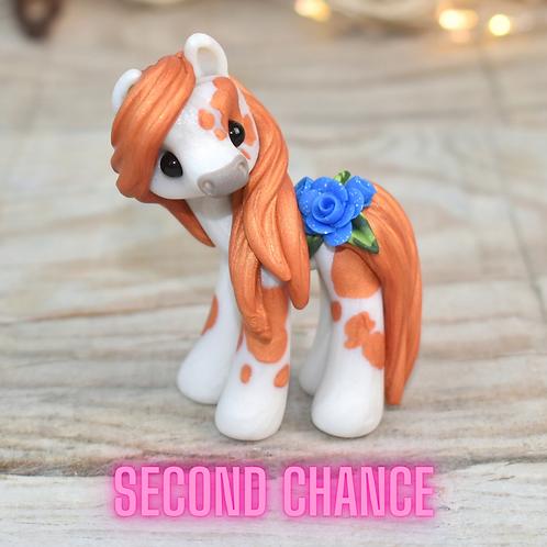 Lottie - (Second Chance) - Handmade polymer clay pony