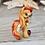 Thumbnail: January - (Second Chance) - Handmade polymer clay pony - tiny size