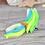 Thumbnail: Turquoise GITD - (Second Chance) - Handmade polymer clay pony