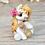 Thumbnail: Citrine - (Second Chance) - Handmade polymer clay pony - tiny