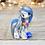 Thumbnail: September - (Second Chance) - Handmade polymer clay pony - tiny