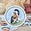 Thumbnail: Anne (circle) *  Vinyl Sticker (waterproof)