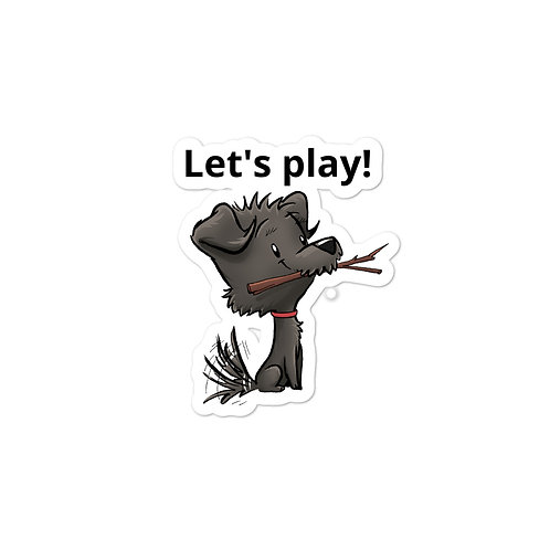 Mellybean 'Let's Play' Sticker