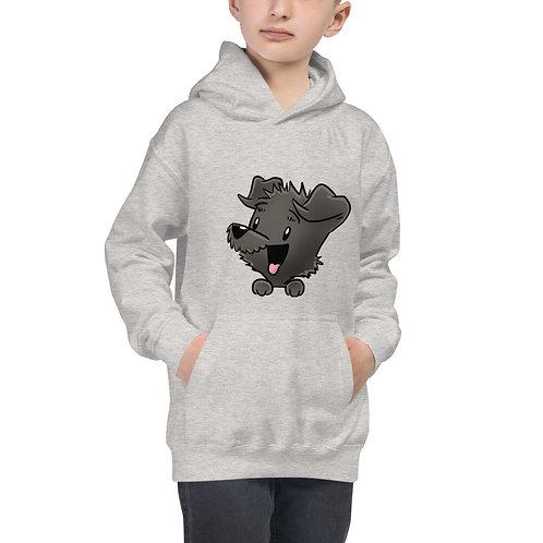 Mellybean 'Pocket Pupper' Kids Hoodie (Unisex)
