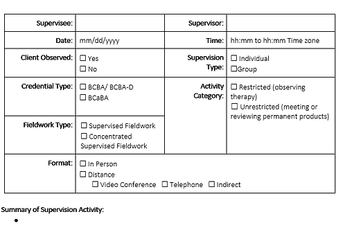 5th ed Supervision Note