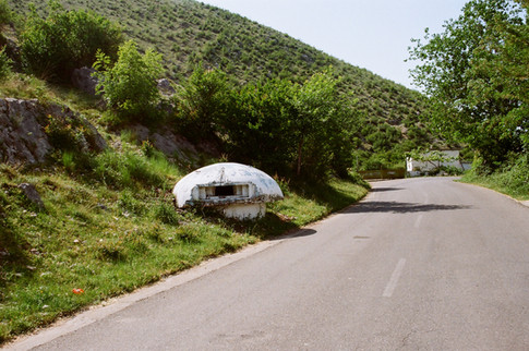 Bunkers on the Road