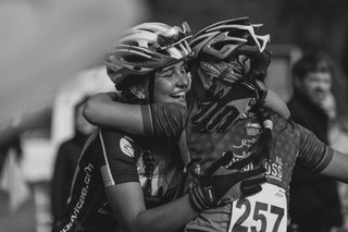 Friends after the race