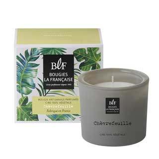 Honeysuckle natural scented candle