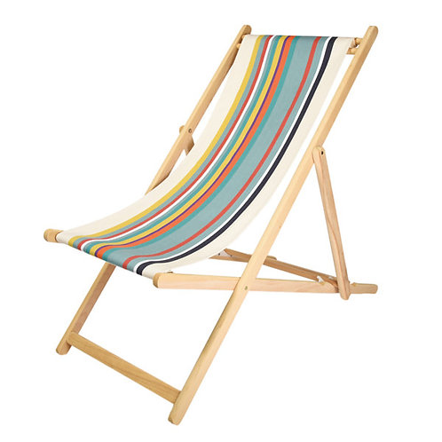 Deck Chair Natural Biarotte -Artiga