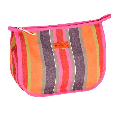 """Artiga Toiletry Bag Ogeu - 100% cotton - coated inside - 11""""x9""""x3.5"""""""