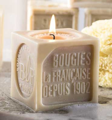 Lavender laundry scented Candle Marseille Soap - Bougies La Francaise
