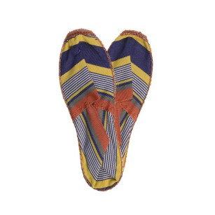 Flat shoe French espadrille hand sewn Puyo by Artiga