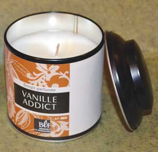 Vanilla Scented Candle - Bougies La Francaise