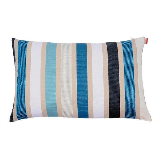 Pillow case rectangular Garlin Bleu - Artiga