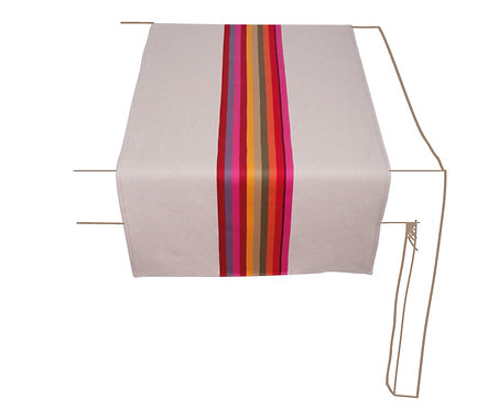 Table Runner Mauleon Fushia - Artiga