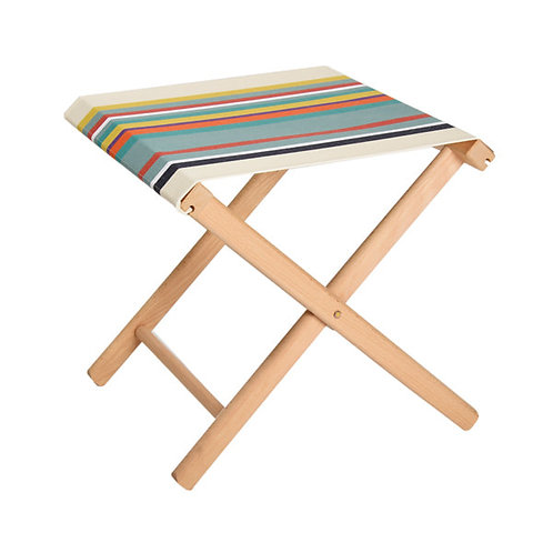 "Folding Stool Biarotte (canvas size 20""x16"") -Artiga"