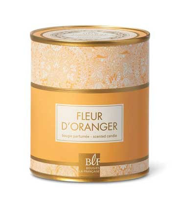 Orange blossom scented candle Bougies La Francaise
