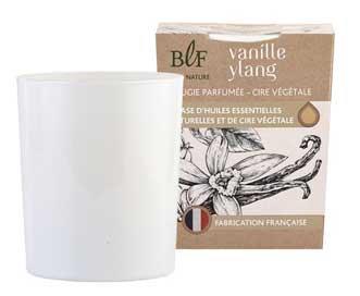 Vanilla Ylang natural wax scented candle
