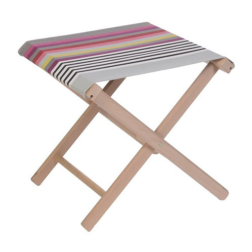 "Folding Stool Larrau (canvas size 20""x16"") -Artiga"