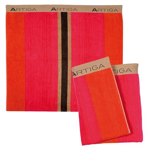 """Beach towel Orriule (71""""x40"""" ) 100% extra soft cotton by Artiga linens"""