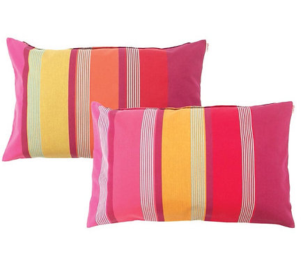 Pillow case rectangular Bidos Cassis - Artiga