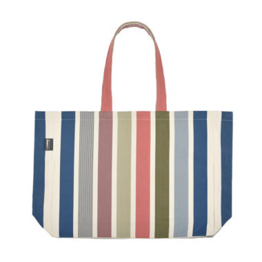 Tote Bag Garlin Corail 100% cotton Canvas by Artiga