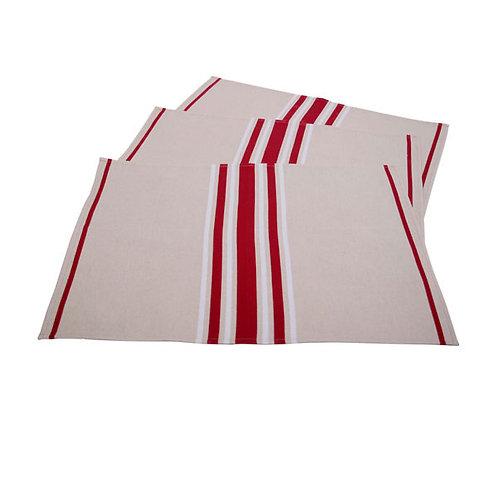 "Placemat Corda Bx Blanc - size 15""x20"" - 100% Cotton - Artiga"