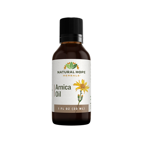 Arnica oil for minor bumps and bruises 1 fl.oz