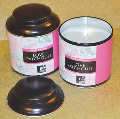 Patchouli Scented Candle - Bougies La Francaise