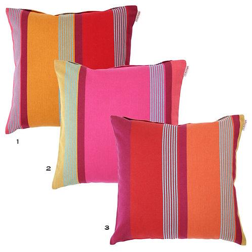 Pillow case square  Bidos Cassis - Artiga