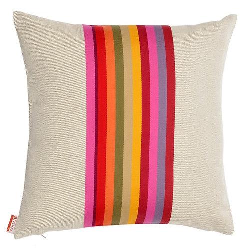 Pillow case square Mauleon Fushia - Artiga