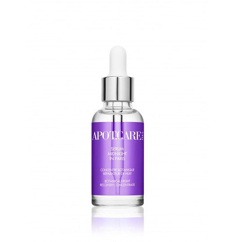 "Organic Night Serum ""Midnight in Paris"" - APOT.CARE"