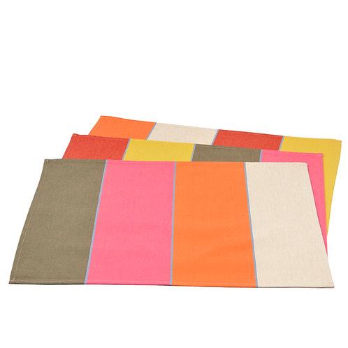 """Placemat Montfort - size 15""""x20"""" - 100% Cotton - Artiga"""