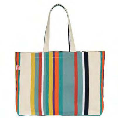 """Tote Bag Biarrotte (20""""X13"""") 100% cotton Canvas by Artiga"""