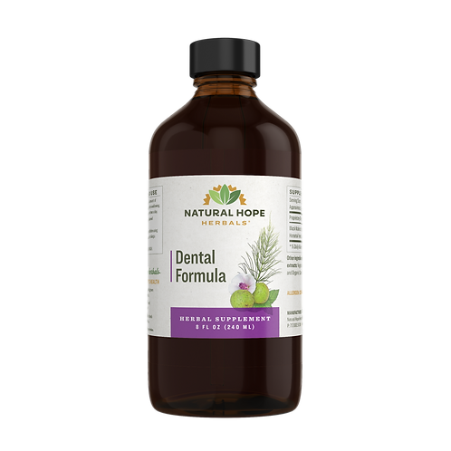 Dental Formula herbal extract 8 fl.oz