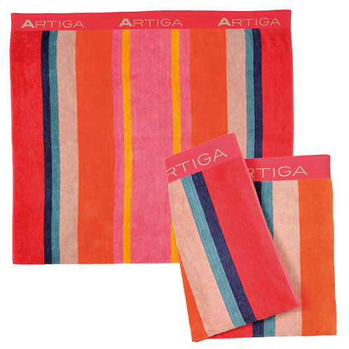 "Beach towel Labatut (71""x40"" ) 100% extra soft cotton by Artiga linens"