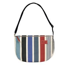 Shoulder Purse with zipper Garlin Marine - Artiga