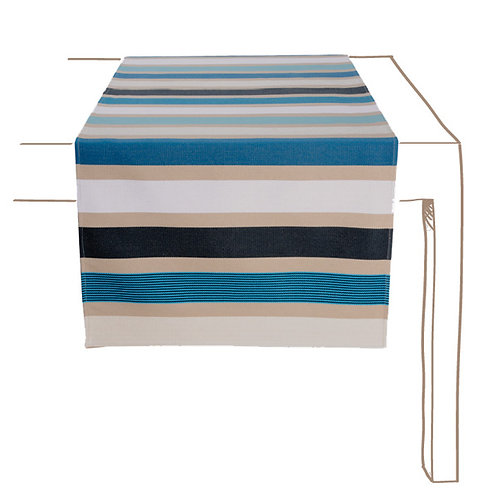 Table Runner Galin Bleu - Artiga