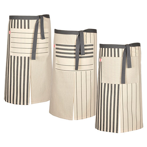 "Apron Home Sauvelade 100% cotton - 38.5""x26.5"" - Artiga"