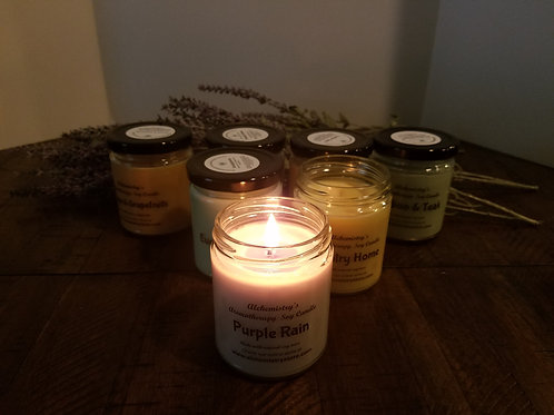 Soy Candle ( Essential oil )