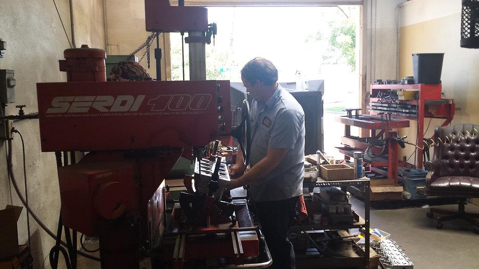 Indoor Photo of Arlington Automotive Machine Shop