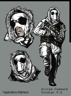 Allied Command Soldier, V1