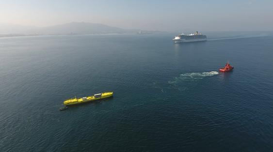 Towing Tests in Ria de Vigo