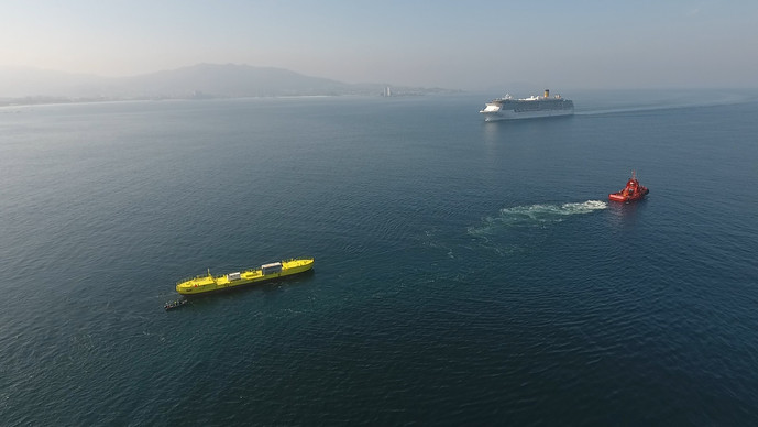 Towing Tests in Ria de Vigo