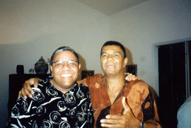 With Jack DeJohnette, 1999