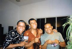 With Gonzalo Rubalcaba and Jack DeJohnet